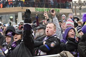 A flock of Ravens fans are likely to show up for Tuesday's Super Bowl parade.