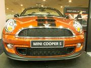 Although Mini Cooper models do not change much year to year, they continue to be popular at the Motor Trend car shows. This Mini Cooper S Roadster starts at $28,250.