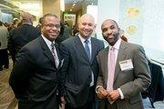 James Marshall, SB & Co. LLC; Troy Priest, partner, Wong Fleming; Barron Stroud Jr., partner, Wong Fleming.