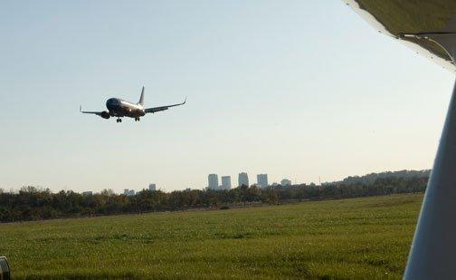 Fewer flights at Birmingham-Shuttlesworth International Airport were on time in March.