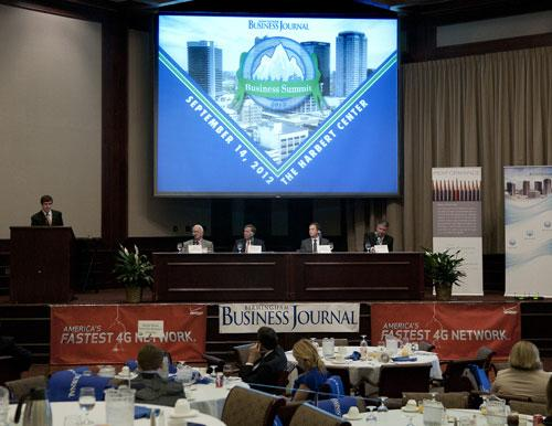 Panelists spoke about how businesses can maintain long-term success during the Business Summit.