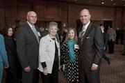 Honoree John Lyda and his supporters.