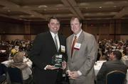 Honoree Brian Sparks and Andy Rotenstreich.