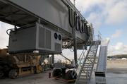 New jetway outside Concourse B.