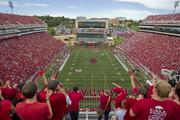 No. 22 - University of Arkansas Average attendance: 68,932 Conference: SEC