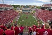 No. 22 - University of Arkansas Average attendance: 68,932 Conference: SEC