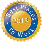 Birmingham's Best Places to Work for 2013