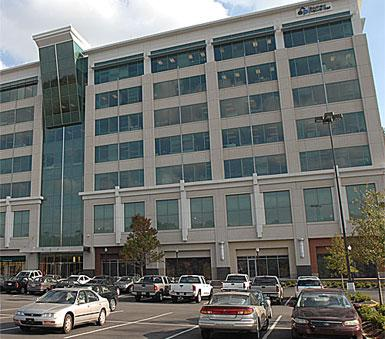Colonial Brookwood office building is undergoing a shake-up of space distribution, with Kinder Morgan downsizing and Merrill Lynch moving in.