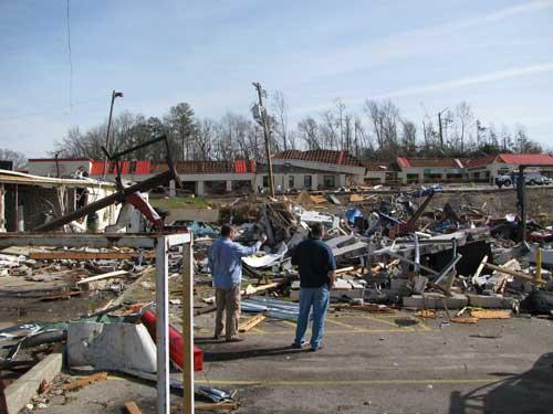 Several Jefferson County citizens, including Center Point, were hit by a tornado on Jan. 23.
