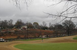 The project will overlook Highland Park Golf Course.
