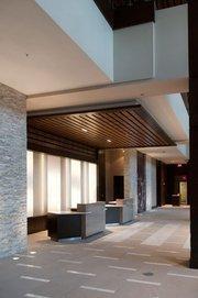 Lobby of the Westin.