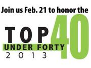 The 2013 Top 40 Under 40 awards luncheon will be held Feb. 21 at the Sheraton Birmingham. Click here to register.Click next photo to continue meeting this year's class.