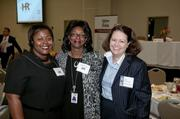 Kim Harris of Alabama Power Co., Regina Thompson of Alabama Power and Carin Pendergraft of Ogletree Deakins.