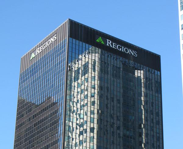 Regions is expected to announce a profit of between 18 and 23 cents per share in their 1Q earnings release Tuesday.