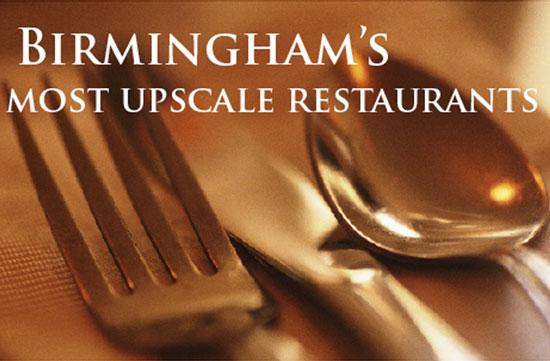 Use this photo gallery to see which restaurants are the most upscale in Birmingham