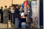 Networking at the 2011 Business Growth Expo.