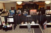 Exhibitors at the Business Growth Expo represented a range of industries, including law, technology, tourism and health care.