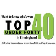 Click here for our searchable database of past Top 40 Under 40 honorees.