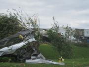 Alabama Tornado Damage: The aftermath of the storm that hit Daniel Payne Industrial Park.