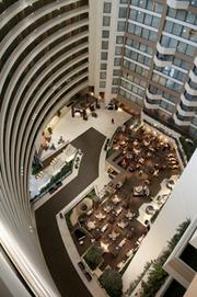 Mark Noyes said the Sheraton Birmingham Hotel is experiencing more midweek occupancy.