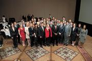 The 2013 Top 40 Under 40 honorees posed for a group shot after the luncheon.
