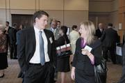 William Thuston of Christian & Small LLP and Courtney Saad.