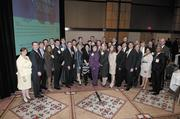 This year's Top 40 Under 40 class gathers for a group shot.