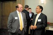 United Way's Drew Langloh and AT&T's Glyn Agnew.