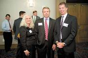 Tina Wilcoxen, Noel Carden and Joe Dunsmore of Blue Cross and Blue Shield of Alabama.