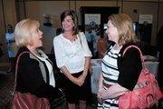 Alacare Home Health & Hospice's Susan Freeman, Christy McKone and Susan Brouillette.