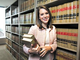 Ginny Willcox got hired by Balch & Bingham as an associate right out of law school, but not all law graduates are so lucky in the challenging job market.