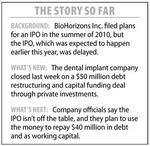 BioHorizons IPO not off the table, firm CEO says