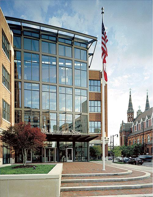 The Birmingham News building is up for sale.