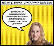 """Melissa Brown Company: Kelley & Mullis Wealth Management Why Melissa is a Top 40 honoree:  In her six years with Kelley & Mullis Wealth Management, Melissa S. Brown has helped the firm substantially grow in clients and community relations. The 35-year-old, the firm's chief operating officer and associate wealth manager, has grown the firm's portfolio by 40 percent in the past three years, bringing the portfolio she manages to $295 million in assets. Brown has also been instrumental in overseeing the firm's social media outreach. The firm's Managing Partner Michael Mullis describes Brown as """"a dynamic businessperson."""" She was named a finalist in the Stevie Awards for Women in Business in 2011.  Subscribers can click here for the full profile  Join us to honor Melissa and the rest of our 2012 Top 40 Under 40 at our awards luncheon on Feb. 23. Click here for more information on the event"""