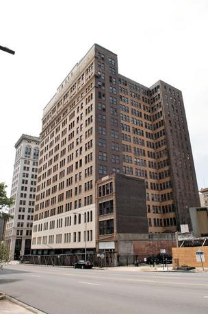 Historic Brown-Marx tower may have new life as apartments.