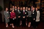 HealthSouth brought a large contingent to support John P. Whittington, who was an honoree in the awards.