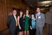 Buffalo Rock Co.'s Warren Austin, Alisa Austin, Jen Dent, Cathy Dent and honoree Matthew Dent.