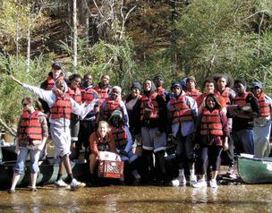 Minor High School students are among the 24,000 students CRS' Clean program has taken to the Cahaba River for hands-on science education.