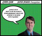 Chris Cain Company: Carr Riggs & Ingram LLC Why Chris is a Top 40 honoree:  As one of the youngest CPAs to make partner at Carr Riggs & Ingram LLC, Chris Cain's exemplary performance has earned him a coveted place in his firm. The 36-year-old developed and built the financial services division in the firm's Birmingham office. Cain also works with numerous charities, including Birmingham Children's Theatre, and American Heart Association, as well as professional groups including the American Institute of Certified Accountants and Institute of Internal Auditors.  Subscribers can click here for the full profile  Join us to honor Chris and the rest of our 2012 Top 40 Under 40 at our awards luncheon on Feb. 23. Click here for more information on the event