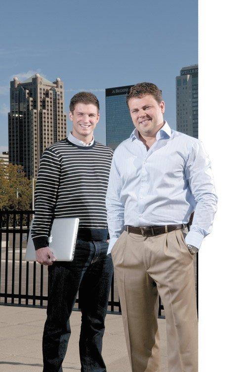 Big City Docs CEO Scott Kubiszyn and Jacob Dorsett, director of community development.