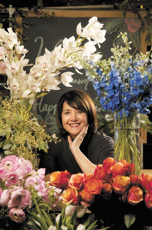 Dorothy McDaniel, owner of Dorothy McDaniel's Flower Market, has turned to marketing for growth.