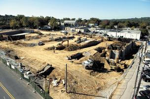 Site work begins on the second phase of The Hill, a 122-apartment community in Homewood. The complex is the sister development to the Hallman Hill apartments, also in Homewood.