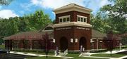 A rendering of Hometown Bank of Alabama's new Pinson branch.