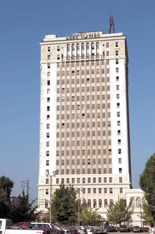 Leer Tower is under contract to be sold.