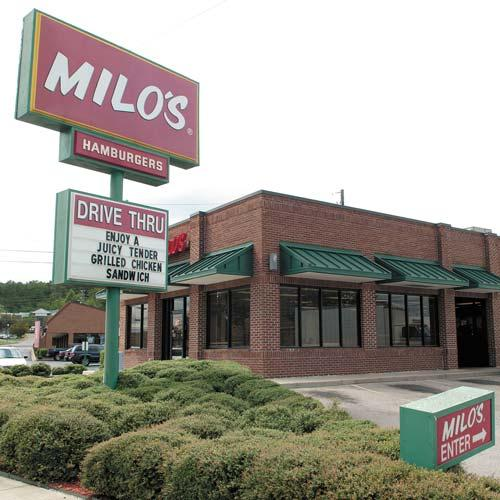 Milo's Franchise Co. LLC wants to stop serving Milo's Famous Tea at its restaurants and has filed a lawsuit against Milo's Tea Co. asking for court approval. The companies split about a decade ago.