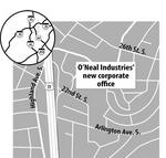 O'Neal Industries eyes growth as it moves C-level offices