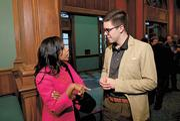 Bonika Wilson of Wilson Capital Management and Will Riley.