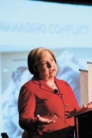 Alabama Power Co.'s Donna Smith talks about conflict resolution in the workplace.