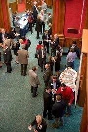 The reception was held at Brock Recital Hall at Samford University.