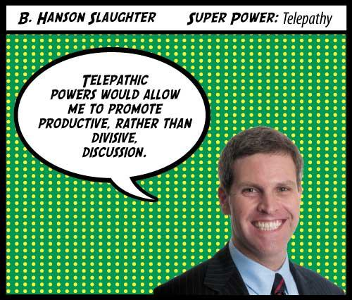 Hanson Slaughter of Sterne Agee & Leach Inc. Click here to meet the rest of the 2012 Top 40 Under 40